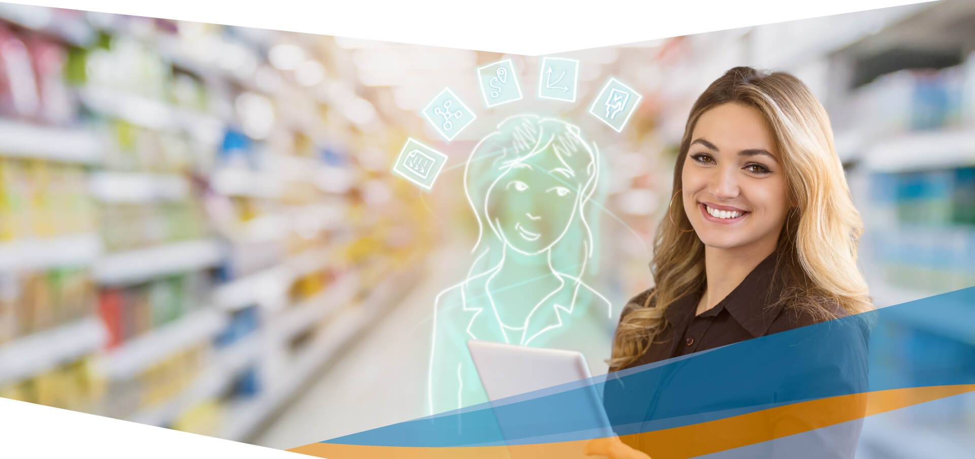 DeDeSales gives your sales staff a complete overview of orders and customers.